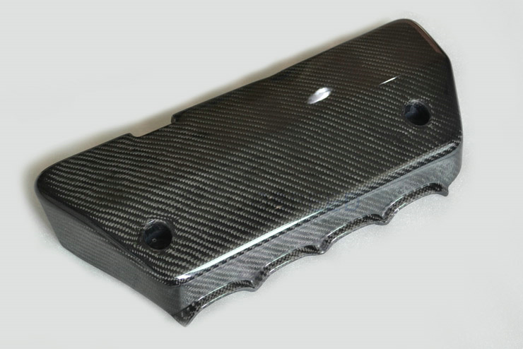Carbon Fiber Engine Cover Intake Manifold Cover for Honda Civic FD2