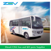 ZEV 6660G, new and used mini city bus right hand drive, second hand bus