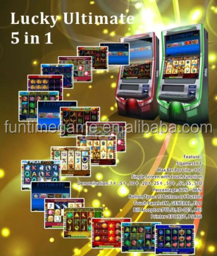casino arcade slot game machine / game slot Lucky Ultimate 5 in 1