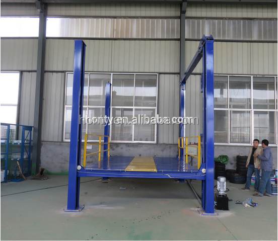 screw four post car lift platform with CE