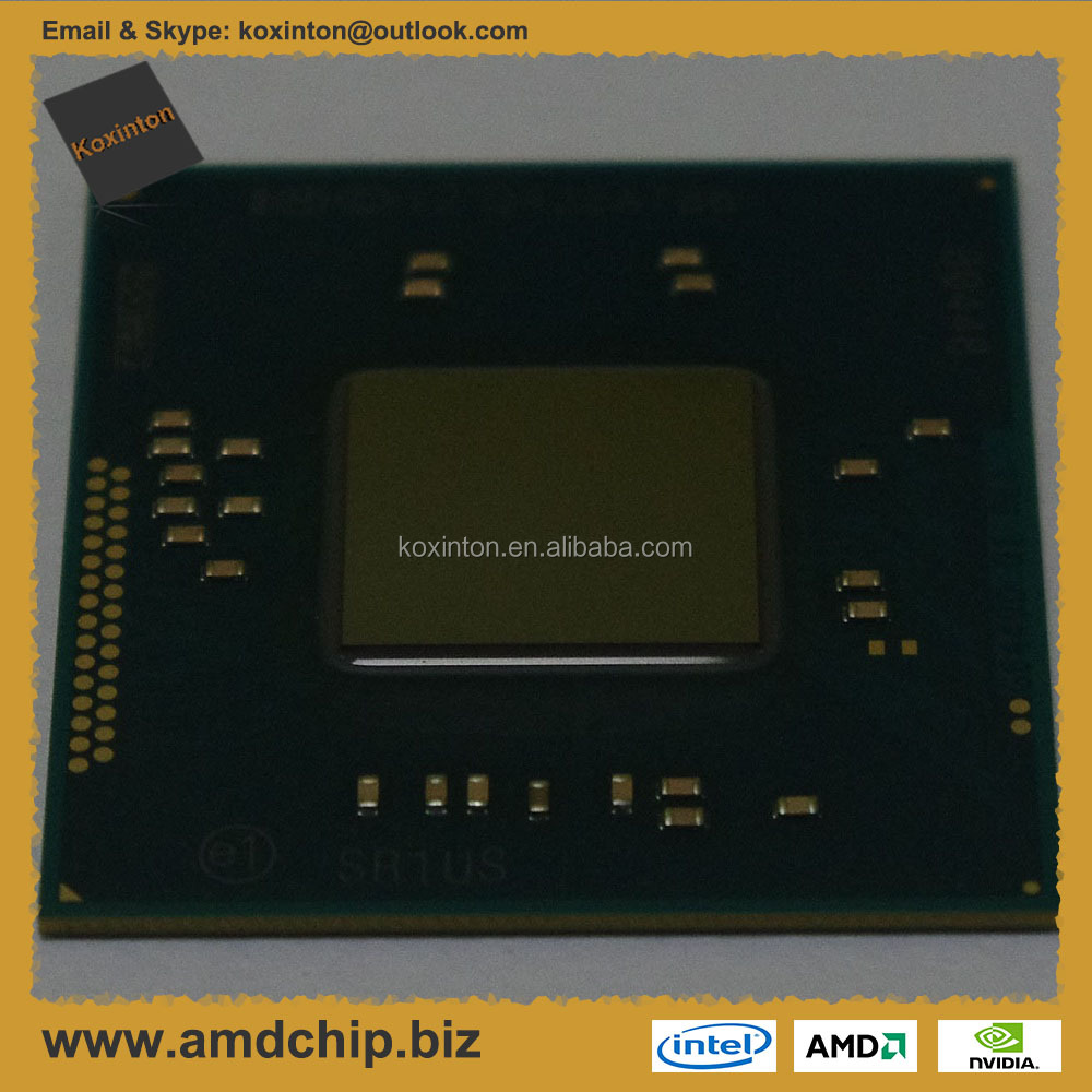 Socket BGA1170 Intel Pentium J2900 2410 MHz (Bay Trail-D, 2048Kb L2 Cache, SR1US) CPU Processors, New and Original