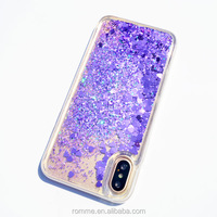 Professional phone case manufacturer supplies beautiful glitter bling phone case accept drop shipping