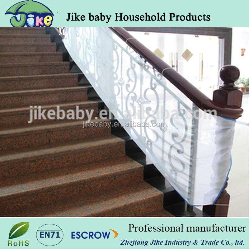 new developped stair rail net baby stair gate photo for baby defence