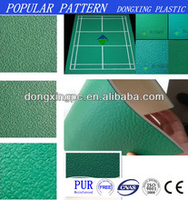 Badminton Court Pvc Vinyl Flooring , Pvc Basketball Sports Flooring