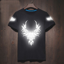 2017 glow in the dark t shirts new model t shirts led t shirt wholesale