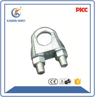 Hardware tools DIN741 wire rope clips galvanized wire rope clip