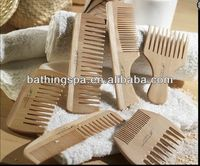 Hot selling wooden hair comb