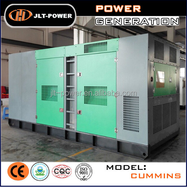 JLT POWER: 60Hz 400kw 500kva diesel generator for sale
