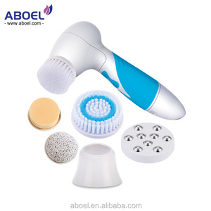 Facial Deep Pore Cleansing Brush Face Wash Cleanser Electric Waterproof Skin Care Cleaning Tool