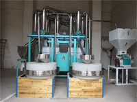 Wheat flour mill machine milling by round stone/ stone flour milling machine