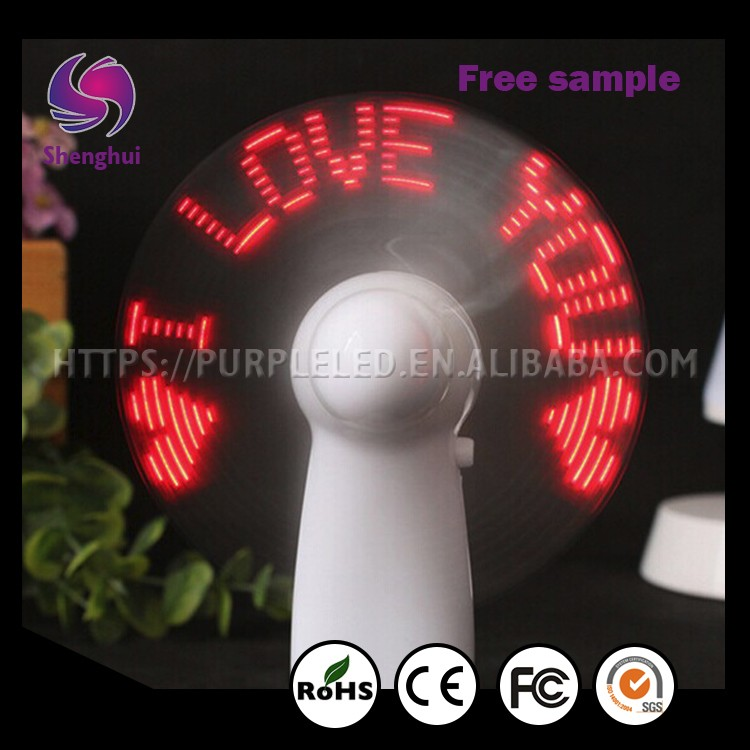 ShengHui Hot Selling New Product led bedside table lamps christmas gift creative gifts LED Table Lamp With Fan