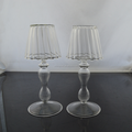 crystal candle holder lanterns for candles white