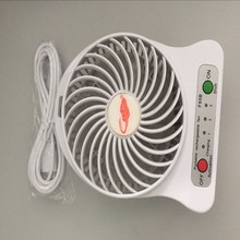 personal round folding fan high temperature hanging exhaust cool air mini fan with remote control