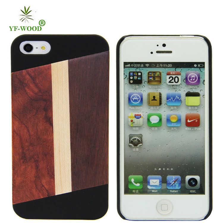 Chinese cell covers case for iPhone 5s wooden