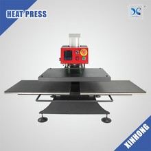 Xinhong Double working stations pneumatic heat press machine for t shirt