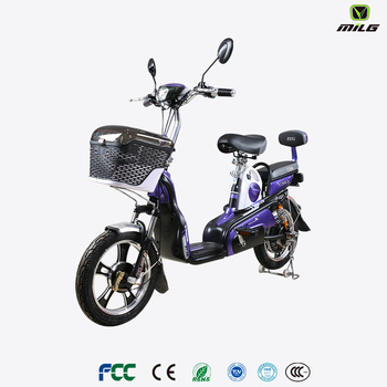 best quality electric scooter with big seat for 2 person