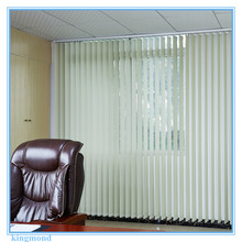 89cm blinds slat PVC Chinese folding vertical sheer blinds for sale