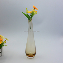 Hot sale decorative crystal glass vase wedding thank you gifts for guests