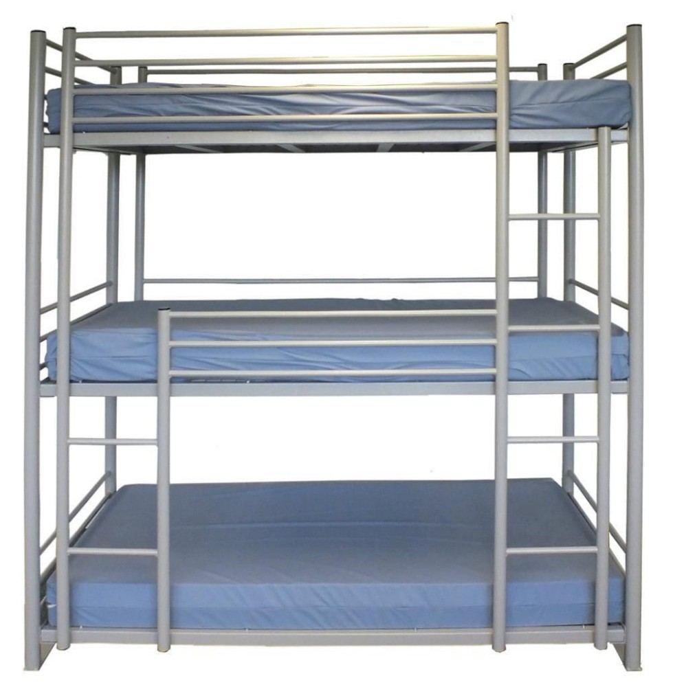 Cheap 3 Person Bunk Bed Used Metal Triple Bunk Beds For Sale Buy