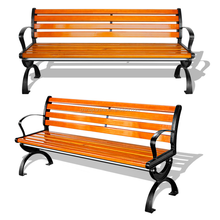 Outdoor Civic Furniture Wood Bench Seats, School Seating, Aluminum Bleacher Seats for Sale