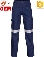 High Quality Flame Retardant Cargo Pants with Hi Vis Tapes