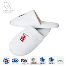 Custom logo terry cloth thong slippers for sale