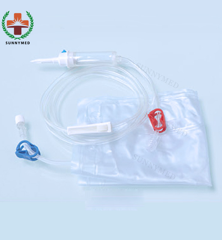 SY-O009 Hospital medical dialysis hemodialysis blood line and fistula needle