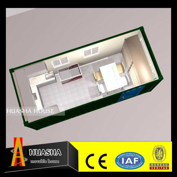 Convertible to use fast installation iso shipping containerized houses