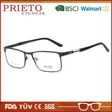 PRIETO eyewear Cheap Recliner Alloy Metal Optical Frame