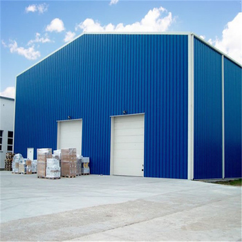 Low cost prefabricated steel structure warehouse for building