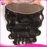 Brazilian Virgin Hair Body Wave Full Lace Frontal Closures,Fashionable 13*4 Ear To Ear Lace Frontal
