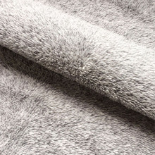 Polyester interlock velvet fleece knit fabric