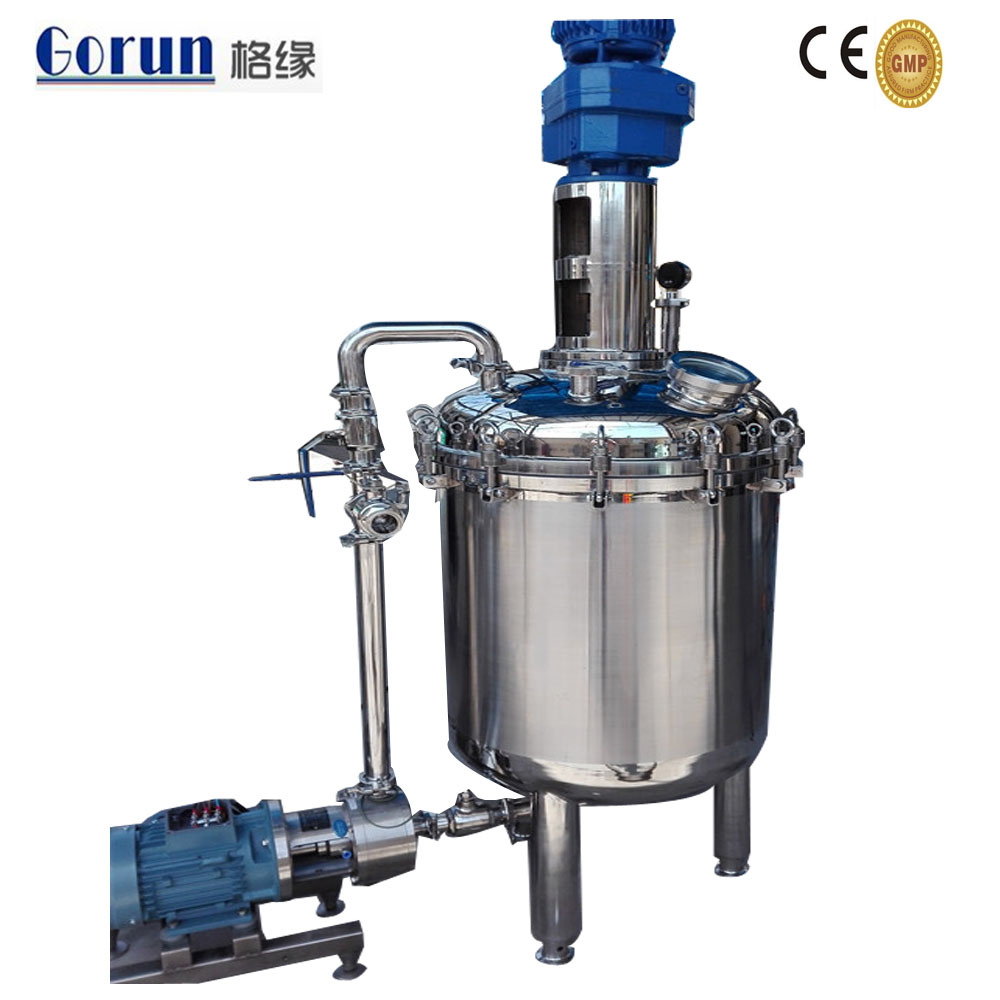 Mayonnaise Emulsifying Tank,Electric Heating Mixing Tank,Paint Manufacturing Equipment