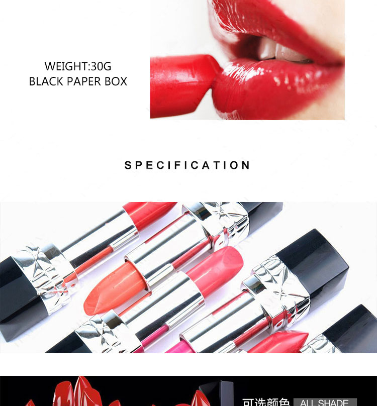 Factory Direct Selling Stock Lipstick Moisturizing Waterproof Non Fade Matte Lipstick