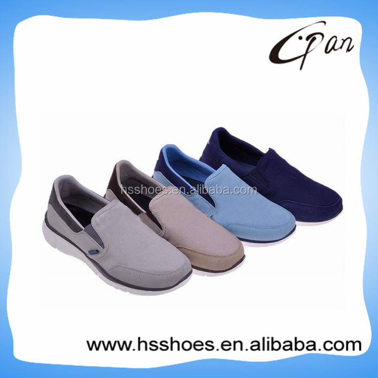 Comfortable soft sole casual man's footwear