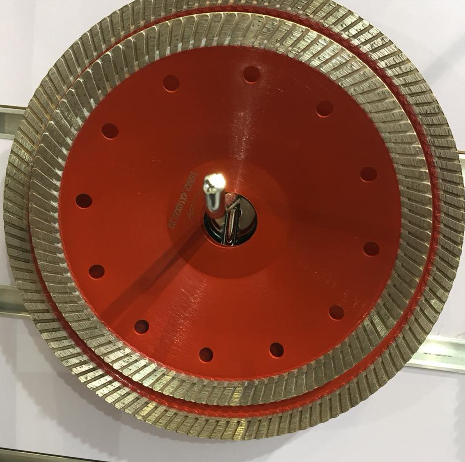 "125mm hot pressed turbo 5"" diamond saw blade for granite,marble brick and concrete, grinding wheel blade"
