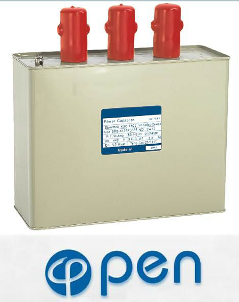 High quality 3 phase bsmj power capacitor 15 kvar