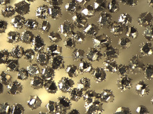 Coated diamond/CBN powder