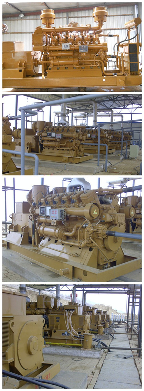 CE approved 10kw to 1MW cogenerator chp methane natural gas generator price