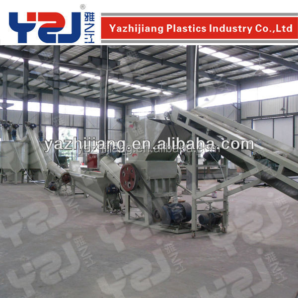 YZJ Waste Pet Recycling Line
