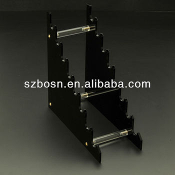 Black Lucite Pen Holder with good quality for sale