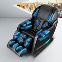 Cheapest Price From 3D Massager Chair loud Speaker 64 Airs Heating Function percussion massager