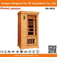 seks and luxury fir infrared outdoor home sauna KN-001C