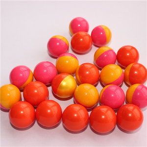 China OEM / ODM 0.68 inch caliber easy to clean biodegradable paintball for tournament player