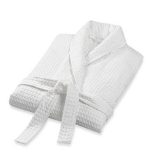 wholesale polyester cotton XL size waffle bathrobe for hotels
