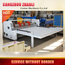 chain feeder corrugated board rotary slotting machine/ corrugated paperboard cutter