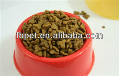 Dry food for pet dogs