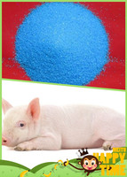 Feed Level Blue Vitriol Fertilizer Copper Sulfate Pentahydrate 98%