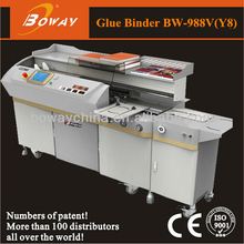 Office school Graphic shop 988V Y8 creasing on-line auto side glue perfect book binding machines