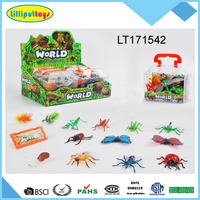 Colorful animal world Soft plastic insect toys